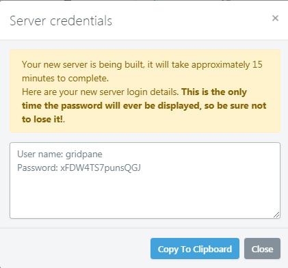 gridpane-linode-server-login-detail