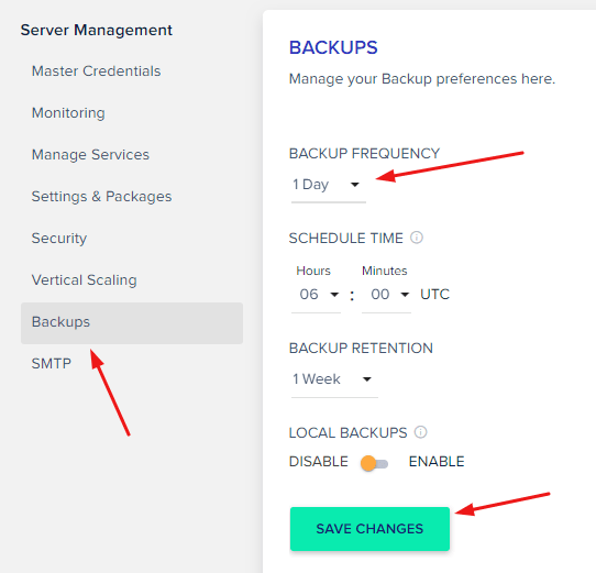 cloudways-backup-frequency-min
