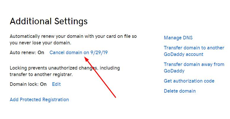 godaddy-cancel-domain1