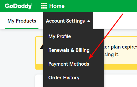 godaddy-payment-methods